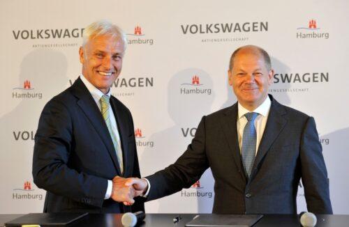 Volkswagen et Hambourg concluent un partenariat stratégique pour la mobilité