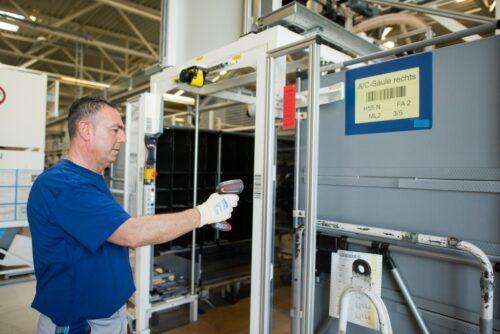 Logistique à l'usine de Wolfsburg Photo 1