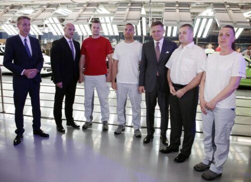 Anniversaire de Volkswagen Slovakia Photo 1