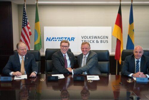 Volkswagen Truck & Bus conclut un partenariat stratégique avec Navistar